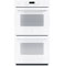 "GE Profile 27"" White Built-In Double Wall Oven"