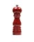 "Peugeot Paris 7"" Red Lacquered Pepper Mill"