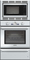 "Thermador Professional Series 30"" Triple Combination Stainless Steel Wall Oven"