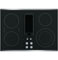 """GE Profile 30"""" Stainless Steel Electric Cooktop With Downdraft"""