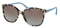 Prada Spotted Opal Brown Square Womens Sunglasses