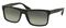 Prada Brushed Matte Black Rectangle Frame Mens Sunglasses