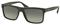 Prada Brushed Matte Grey Rectangle Frame Mens Sunglasses