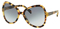 Prada Butterfly Medium Havana Womens Sunglasses