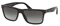 Prada Black Square Mens Sunglasses