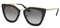 Prada Black Cat Eye Womens Sunglasses