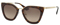Prada Havana Cat Eye Womens Sunglasses