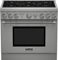 "Thermador 36"" Pro Harmony Stainless Steel Dual Fuel Range"