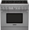 "Thermador 36"" Pro-Style Stainless Steel Liquid Propane Gas Range"