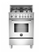 "Bertazzoni 24"" Professional Series Stainless Steel Gas Range"