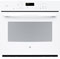 "GE 30"" White Built-In Single Convection Wall Oven"