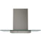 "GE Profile 30"" Slate Wall-Mount Glass Canopy Chimney Hood"