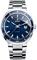 Rado D-Star 200 Stainless Steel Blue Dial Mens Watch