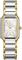 Rado Integral Two-Tone Stainless Steel Quartz Silver Dial Ladies Watch