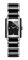 Rado Integral Two-Tone Black And Stainless Steel Womens Watch