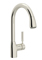Rohl Modern Lux Pull-Down Polished Nickel Kitchen Faucet