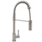 Rohl Stainless Steel Modern Architectural Side Lever Pro Pull-Down Kitchen Faucet