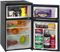 Avanti 3.1 Cu Ft Two Door Counterhigh Black Refrigerator