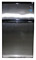 Avanti 3.1 Cu Ft Two Door Counterhigh Black With Stainless Steel Doors Refrigerator