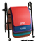 SPRI Portable Black Exercise Mat Rack