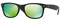 Ray-Ban New Wayfarer Flash Matte Black Unisex Sunglasses