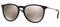 Ray-Ban Pilot Black Erika Gold Mirror Womens Sunglasses
