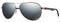 Ray-Ban Polarized Pilot Blue Mirror Double Brow Bar Mens Sunglasses