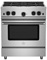 "BlueStar 30"" Stainless Steel Freestanding Gas Range"