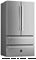 "Bertazzoni 36"" Stainless Steel Counter Depth French Door  Refrigerator"