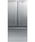 Fisher & Paykel 17 Cu. Ft. Stainless Steel Counter Depth French Door Bottom Freezer Refrigerator