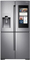 Samsung Stainless Steel Counter-Depth 4-Door Flex Refrigerator With Family Hub 2.0
