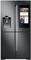 Samsung Black Stainless Steel 4-Door Flex Refrigerator With Family Hub 2.0
