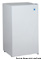 Avanti Black 3.3 Cu. Ft. Compact Refrigerator With Chiller Compartment