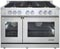"Dacor Renaissance 48"" Stainless Steel Freestanding Gas Range"