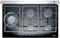 """Dacor Renaissance 36"""" Black Gas TouchTop"""