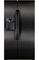 Samsung 25 Cu.Ft. Counter Depth Side By Side Black Refrigerator