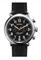 Shinola The Runwell Chrono 47MM  Black Leather Strap Mens Watch