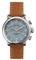 Shinola The Runwell Chrono 41mm Tan Leather Strap Mens Watch