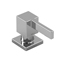 Riobel Chrome Modern Square Soap Dispenser