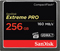 SanDisk Extreme PRO 256GB CompactFlash Memory Card