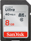 SanDisk Ultra 8GB Class 10 UHS-I SDHC Memory Card