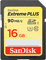 SanDisk Extreme Plus 16GB Class 10 UHS-I SDHC Memory Card
