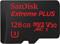 SanDisk Extreme Plus 128GB UHS-I microSDXC Memory Card