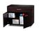 BDI Sequel 6015 Espresso Stained Oak Storage Cabinet