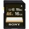 Sony 16GB Class 10 SDHC UHS-I SD Memory Card