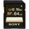 Sony 64GB Class 10 SDXC UHS-I SD Memory Card