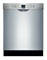 "Bosch 24"" 300 Series Stainless Steel Built-In Dishwasher"
