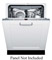 "Bosch 24"" 800 Series Panel Ready Built-In Dishwasher"