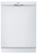 "Bosch 24"" Ascenta Series White Tall Tub Built-In Dishwasher"
