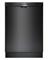 "Bosch 24"" Ascenta Series Black Tall Tub Built-In Dishwasher"